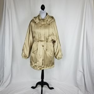 Urban Outfitters Champagne Puffer Coat M